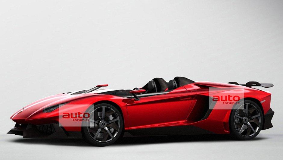 Un concept-car Lamborghini Aventador J à Genève ?