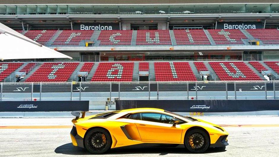 La Lamborghini Aventador LP 750-4 SuperVeloce à l'essai dans Automoto
