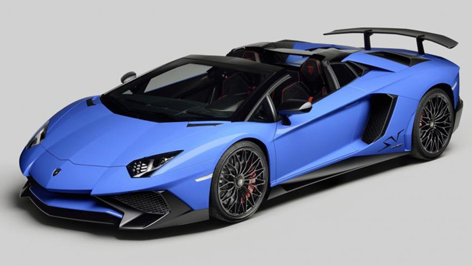Lamborghini Aventador LP750-4 SV Roadster: vidéo, photos et infos