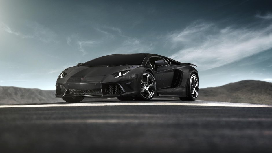 Préparation : la Lamborghini Aventador devenue Mansory Carbonado
