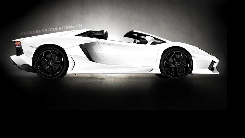 Lamborghini Aventador Roadster : confirmée pour 2012 ?