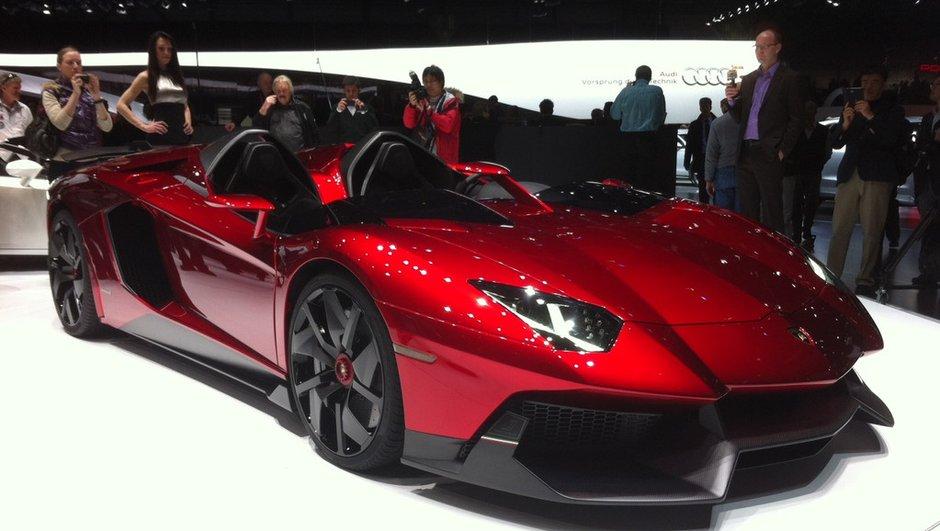 Salon de Genève 2012 : Lamborghini Aventador J Concept, la claque !