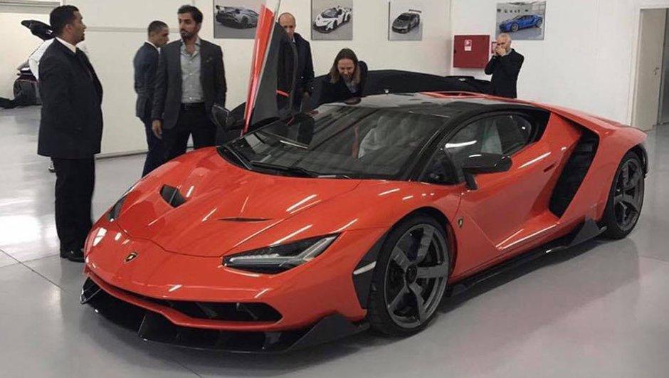 Lamborghini Centenario : Le premier exemplaire livré