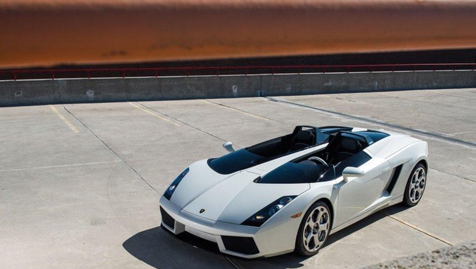 La Lamborghini Concept S aux enchères