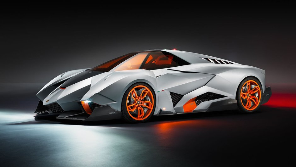 Lamborghini Egoista : un supercar monoplace pour les 50 ans