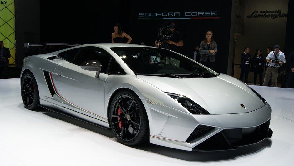 Salon de Francfort 2013 : Lamborghini Gallardo Squadra Corse, taillée pour la course