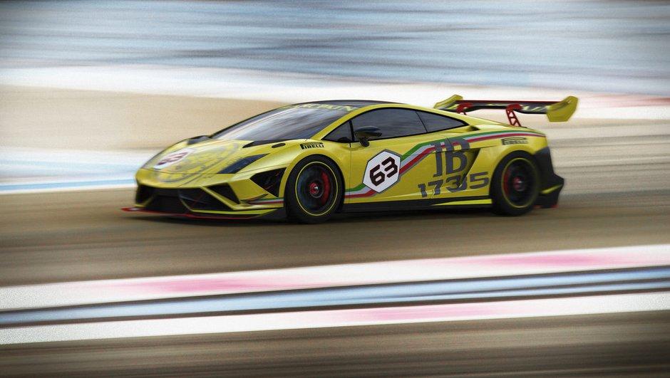 Voici la nouvelle Lamborghini Gallardo LP 570-4 Super Trofeo 2013