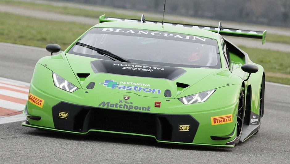 Lamborghini Huracan GT3 2015 : le taureau de compétition prêt pour les arènes
