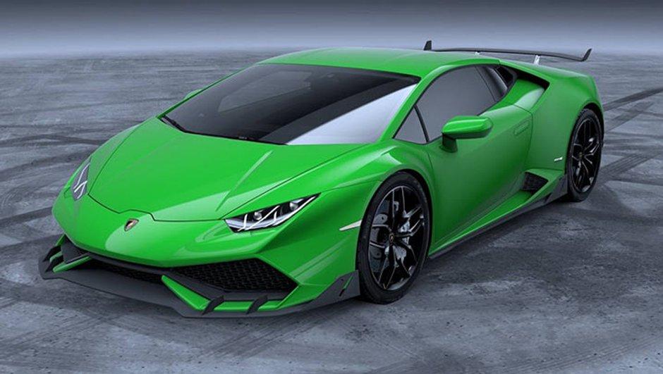 Lamborghini Huracan : un kit aéro officiel à 22 500 $