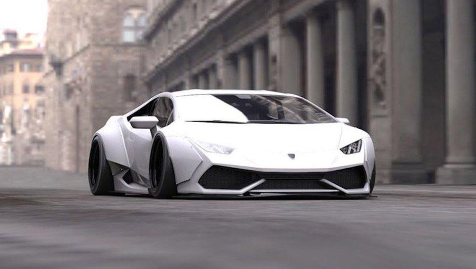 Lamborghini Huracan : un kit radical concocté par Liberty Walk