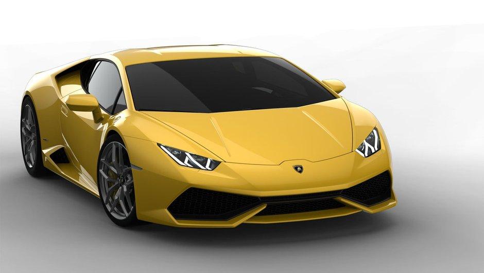 Lamborghini présente la Huracán LP 610-4 2014 en photos, infos et vidéo