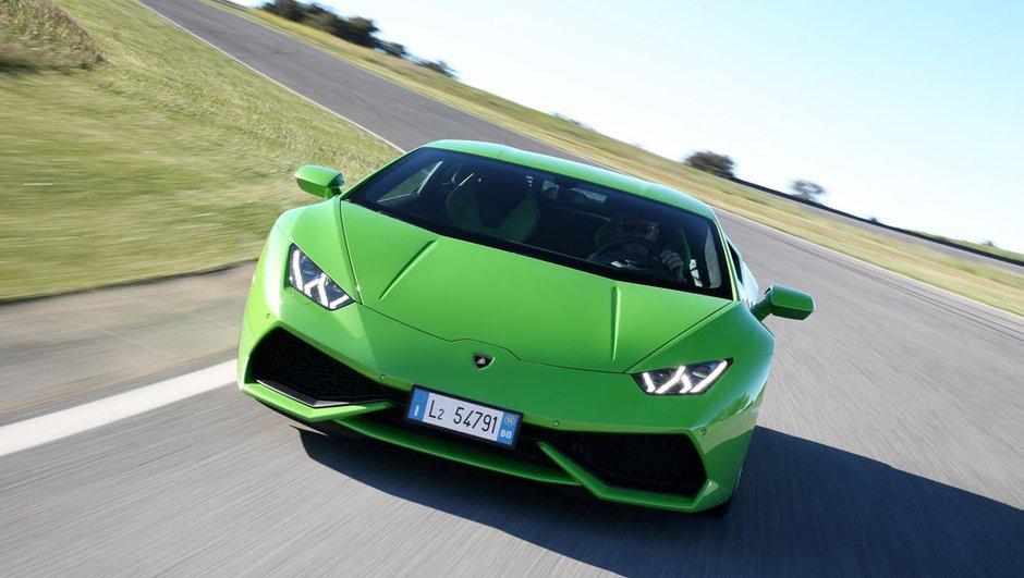 Déjà 3 000 ventes au compteur pour la Lamborghini Huracan