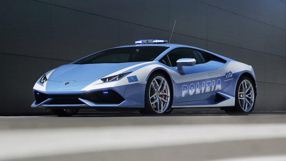 Insolite : une Lamborghini Huracan offerte à la Police Italienne