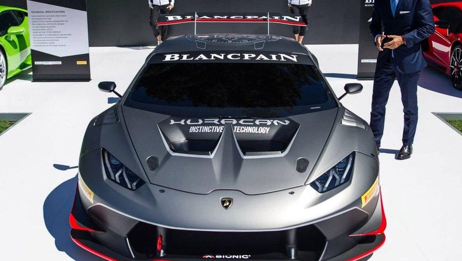 Lamborghini Huracan LP 620-2 Super Trofeo 2015 : toutes les photos et infos officielles
