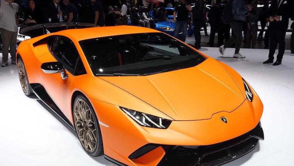 Salon de Genève 2017 : Huracán Performante, le petit supercar Lamborghini au grand record