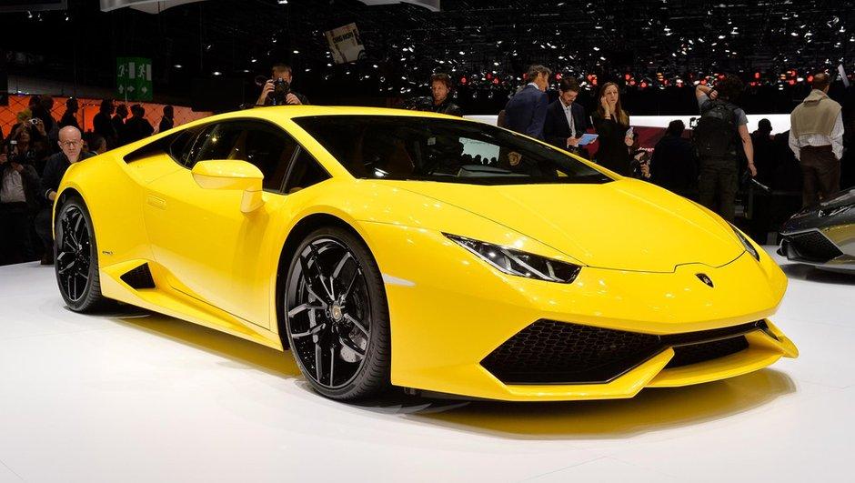 Salon de Genève 2014 : Lamborghini Huracán LP 610-4, la sportive mature