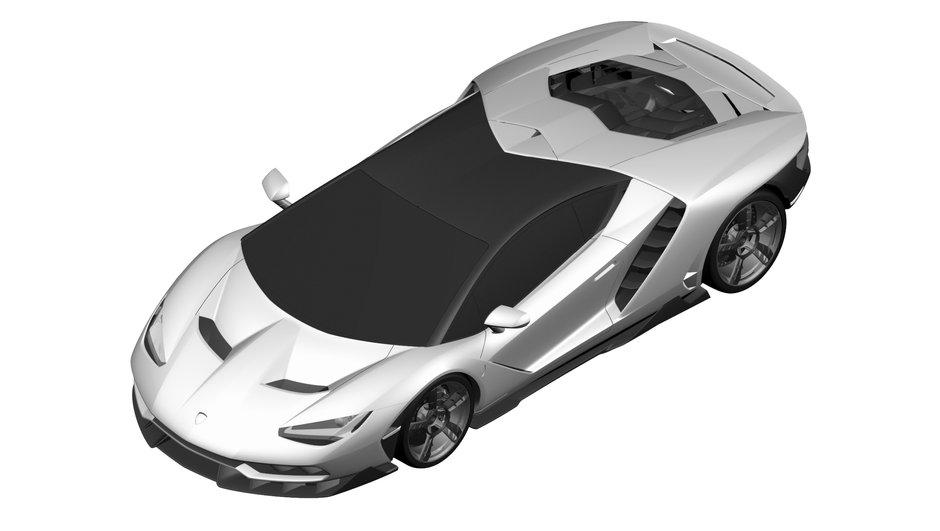 Exclusivité Automoto : voici la nouvelle Lamborghini Centenario LP770-4 !