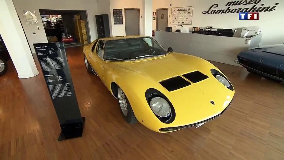 Insolite : une Lamborghini oubliée pendant 40 ans dans un garage !