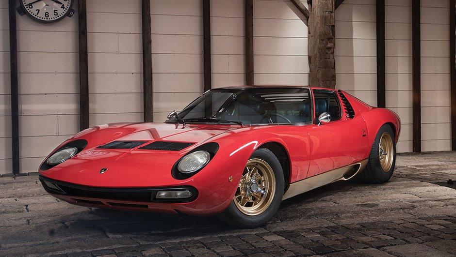 Occasion du jour : La plus parfaite des légendaires Lamborghini Miura ?