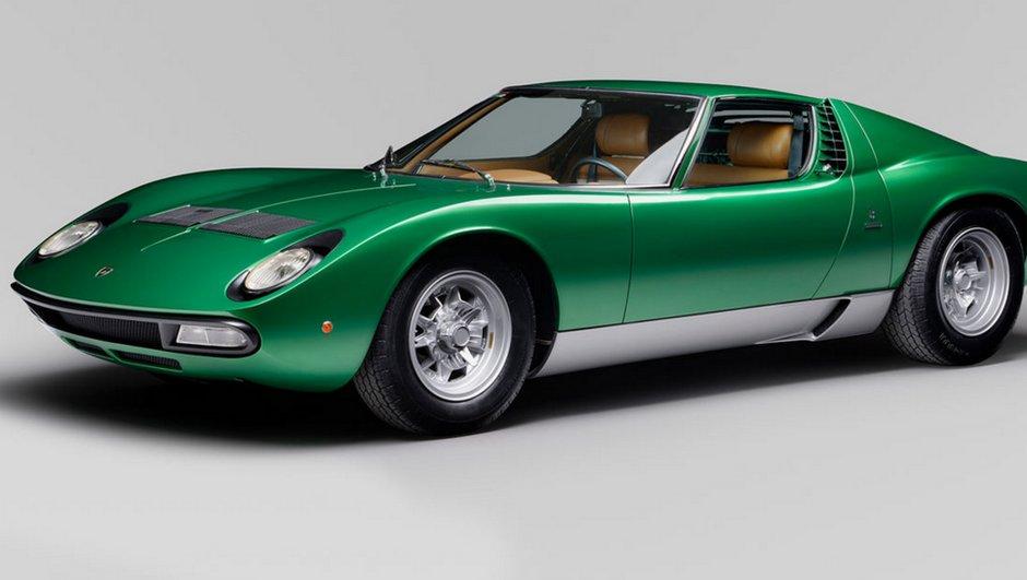 Une future Lamborghini inspirée de la Miura dans les tuyaux?
