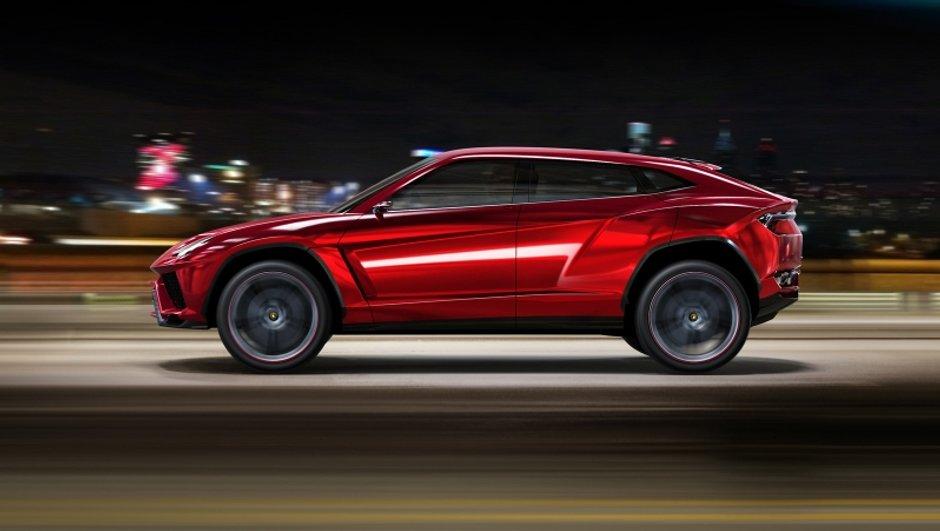 Lamborghini lancera en avril la production de l'Urus, son premier SUV