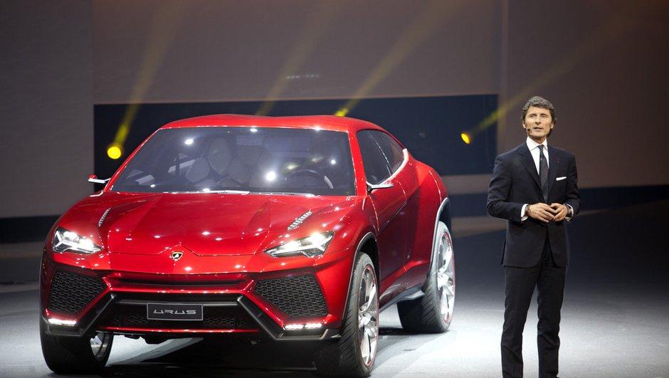 Salon de Pékin 2012 : Lamborghini Urus Concept et ses 600 ch