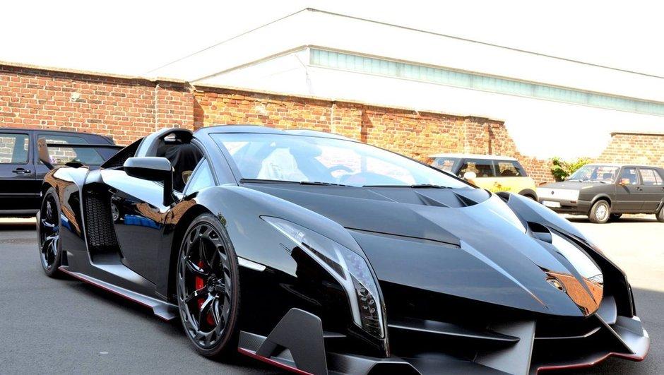 Une Lamborghini Veneno Roadster vendue 5,5 millions d'euros