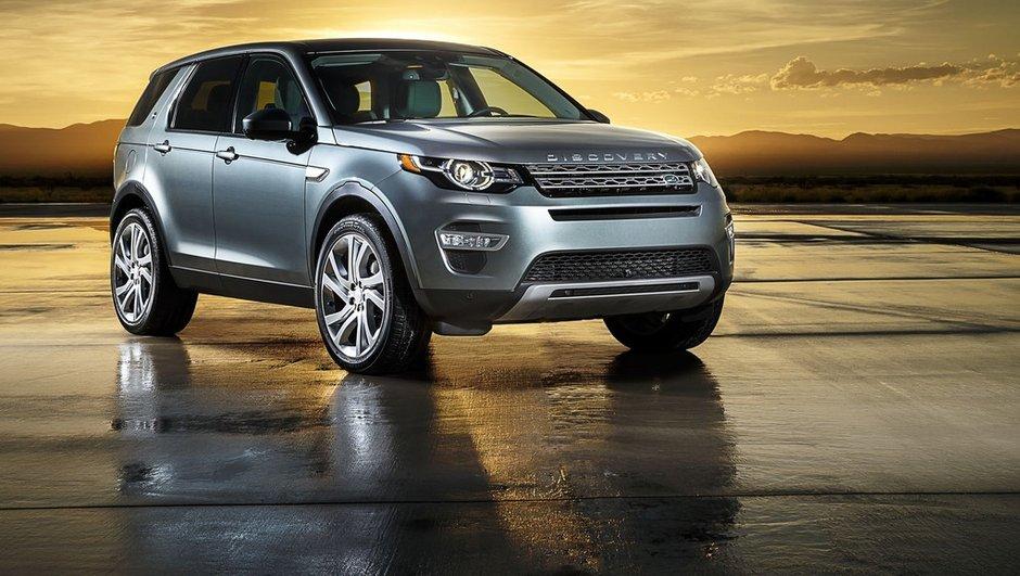 Nouveau Land Rover Discovery Sport 2015 : vidéo, photos et infos officielles