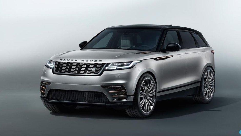 Le Land Rover Range Rover Velar s'affiche précocement en photos