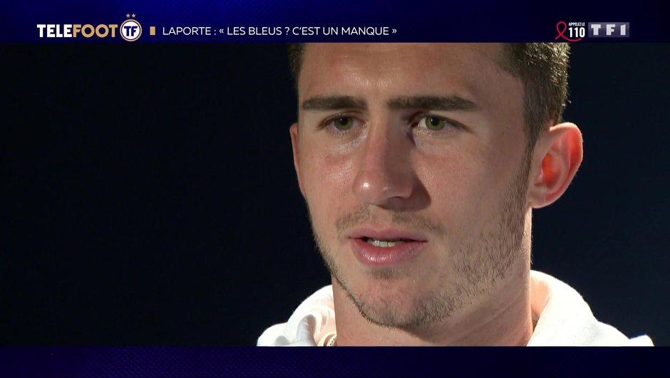 """[EXCLU Téléfoot 7/04] - Laporte : """"J'ai démontré que j'avais les capacités pour jouer à Manchester City"""""""