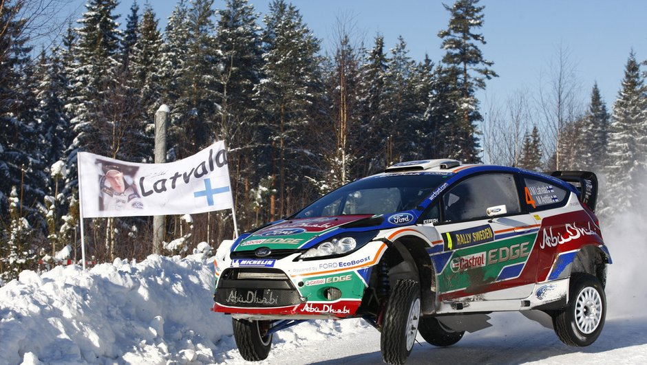 WRC Rallye de Suède 2012 : Latvala remporte les qualifications