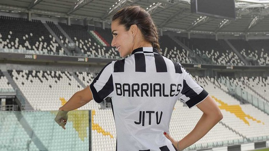 VIDEO Italie : la recrue sexy de la Juventus
