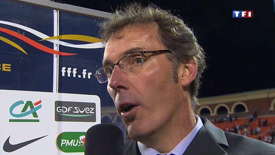 """Laurent Blanc : """"On ne méritait pas de gagner"""""""