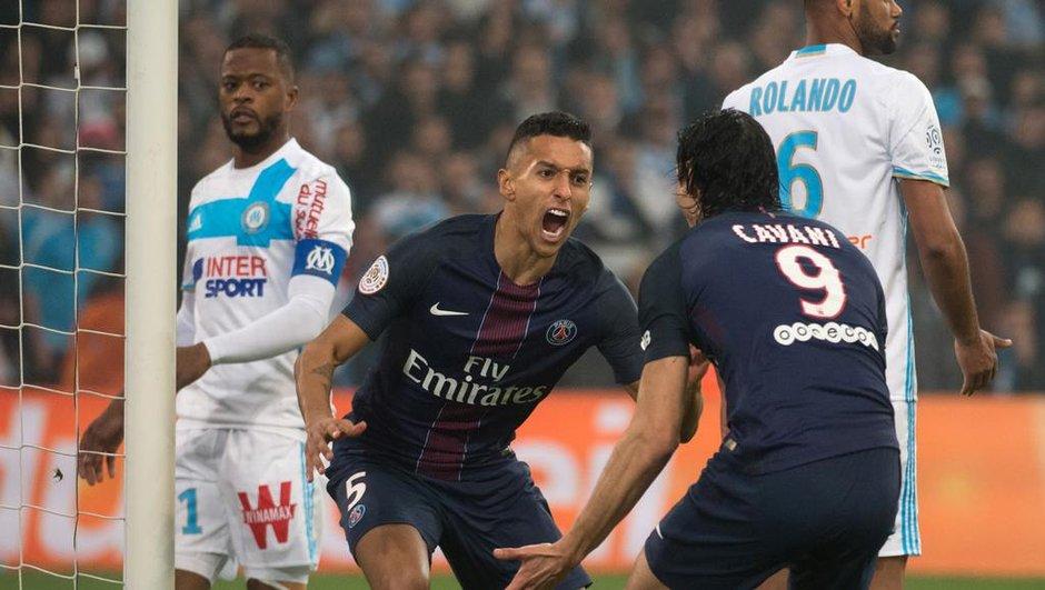 OM-PSG : l'immense joie des joueurs parisiens après leur victoire éclatante à Marseille