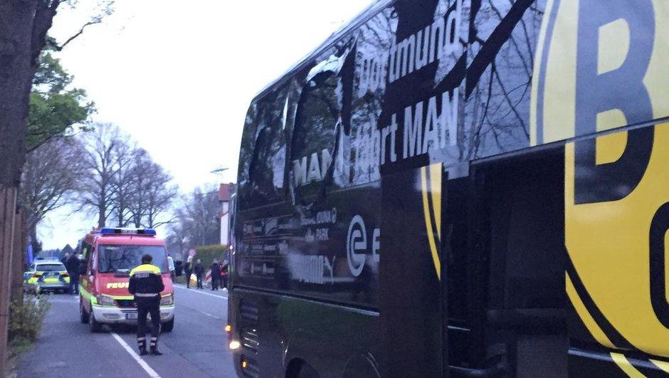 Dortmund –Monaco : Retour sur les explosions près du bus du Borussia