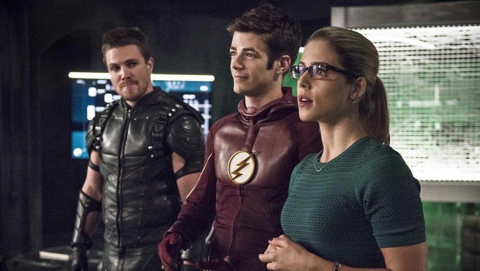 Oliver Queen d'Arrow et Barry Allen unissent leurs forces dans un épisode spectaculaire !