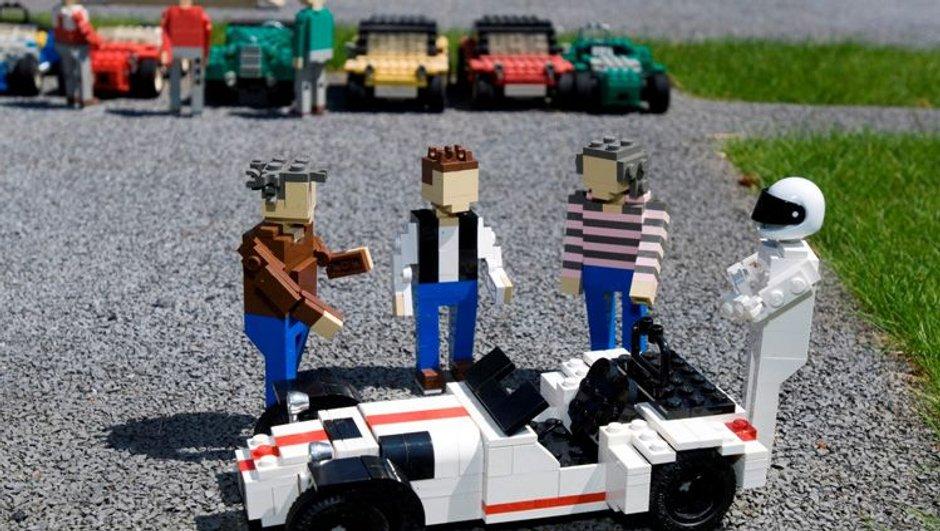 Les héros de Top Gear immortalisés en Lego !