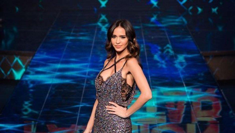 Leila Ben Khalifa, sublime en robe de soirée