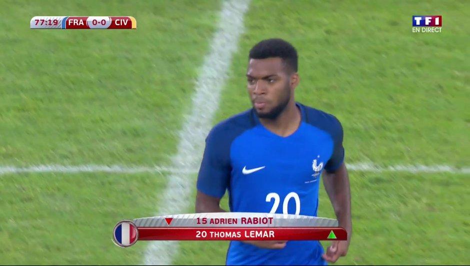 Equipe de France : Thomas Lemar «fier mais surpris» d'avoir été appelé