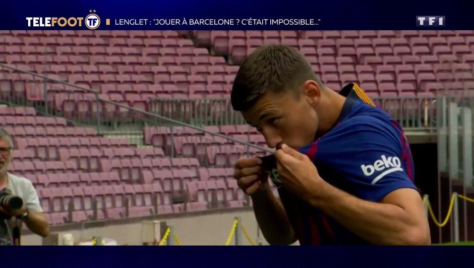 """[EXCLU Téléfoot – 2/12] - Lenglet : """"Le projet de Barcelone était intéressant"""""""