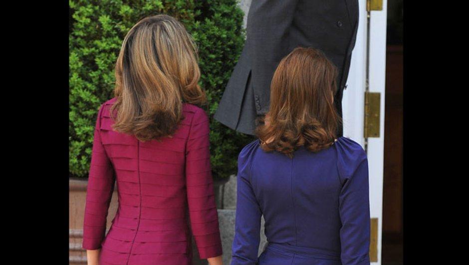 Duel de charme entre Carla Bruni et Letizia d'Espagne