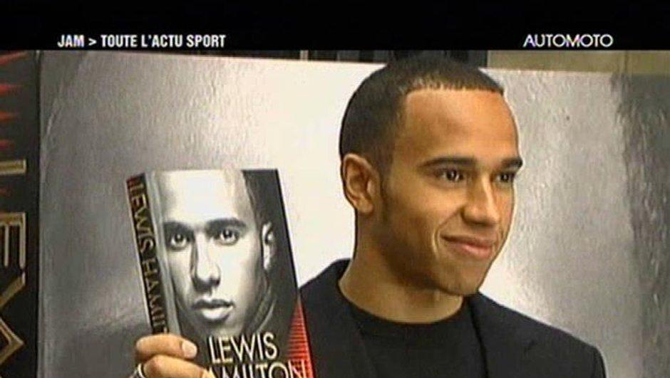 Lewis Hamilton et Ron Dennis à Paris