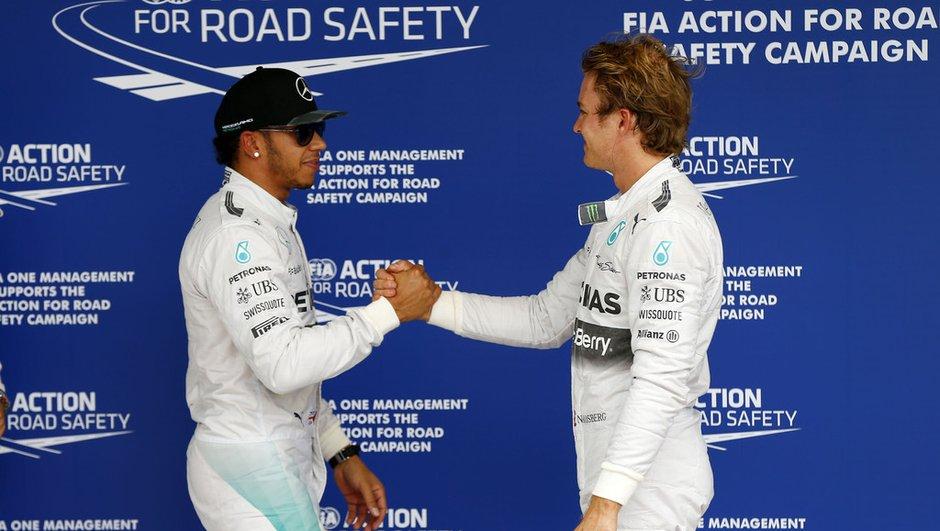 F1 2014 - GP Abou Dabi - Hamilton ou Rosberg champion si...