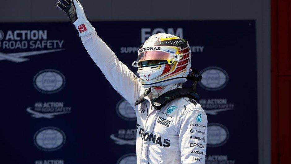 F1 - GP d'Espagne 2016 : pour Lewis Hamilton, la pole est déjà une victoire