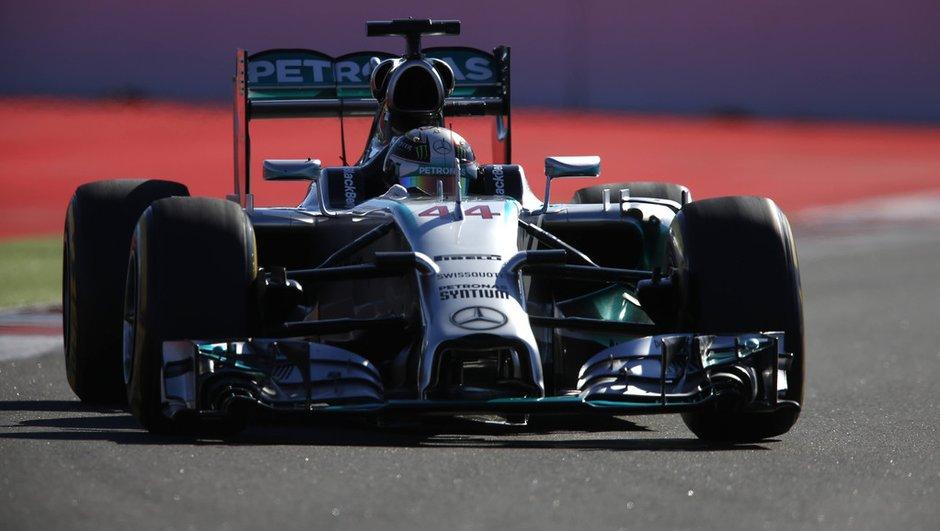 F1 - GP Russie 2014 : victoire pour Hamilton, titre pour Mercedes
