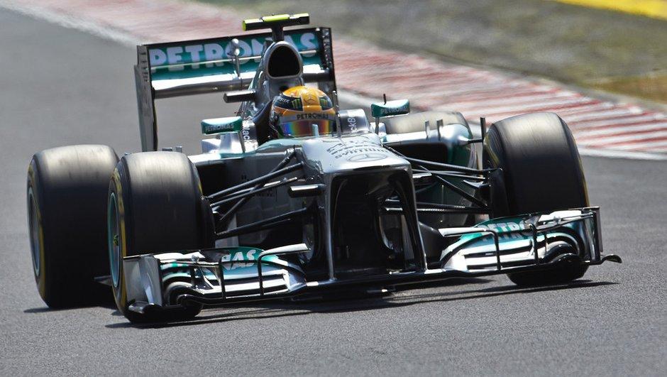 F1 - GP de Hongrie 2013 : Hamilton en tête au départ