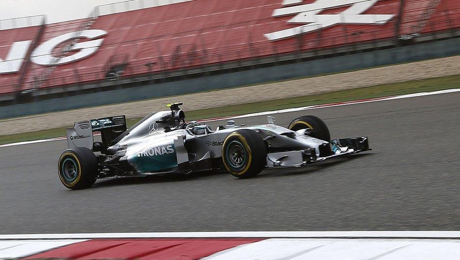 F1 2014 - Essais GP Chine : Hamilton s'impose, Alonso à l'affût