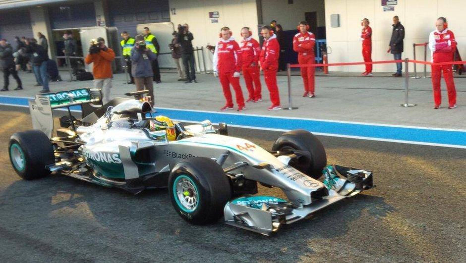 F1 - Essais de Jerez 2014 : Mercedes a accumulé les kilomètres