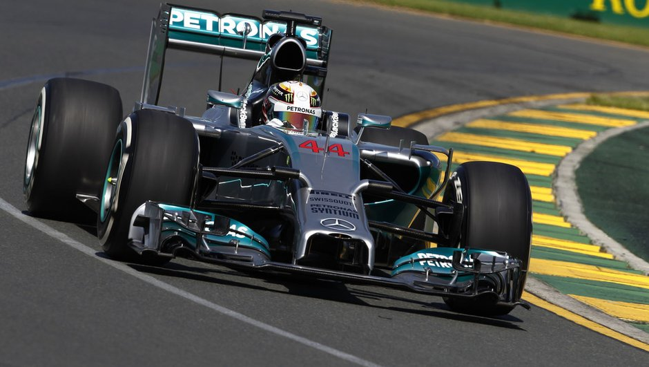 F1 - Essais GP d'Australie 2014 : les Mercedes en puissance vendredi