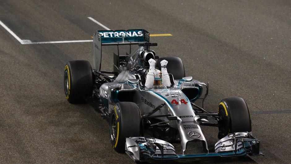 F1 : Lewis Hamilton ne portera pas le numéro 1 en 2015